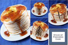 Pancake Cake by Cupcaketherapy, via Flickr