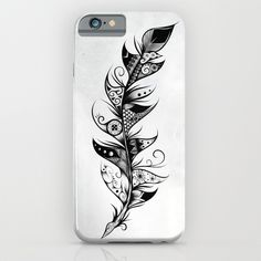 Buy Feather by LouJah as a high quality iPhone & iPod Case. Worldwide shipping available at Society6.com. Just one of millions of products available. #art #loujah #society6 #iphonecase #coques