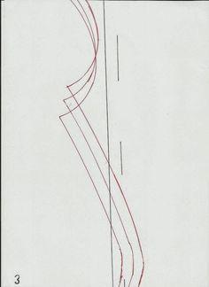 MOLDE DE VESTIDO OCASIONAL Molde de vestido grátis. Vestido simples e belo, este modelo tem um estilo casual mas a sua elegância e charme são uma realidade