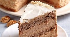 Torte Cake, Sweet Desserts, Vanilla Cake, Nutella, Baked Goods, Mousse, Cake Recipes, Good Food, Food And Drink