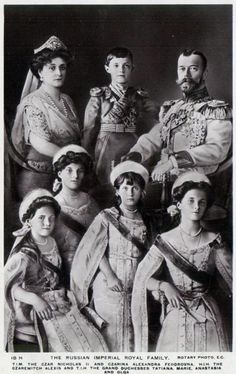 The Last Russian Tsar, Nicholas II, and his family