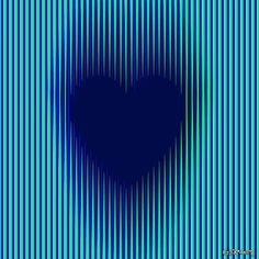 Trance Gothic Heart. Kinetic Art: The dark heart looks like fluttering, pulsating and/or expanding (check… It's a .jpg not an animated .gif !) Moreover, if you stare for a while at it and close your eyes, you will see a white heart appearing in your head! This picture has been included/ranked among the top 10 best optical illusions of the year 2014 by neuroscientists and researchers, see: http://illusionoftheyear.com/?cat=183 . © Gianni A. Sarcone, giannisarcone.com