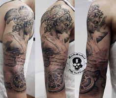 #tattoo #tattooed #tattooist #bestspaintattooartist #sculpturetattoo #blackandgreytattoo #perseotattoo