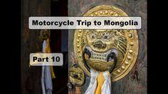 Motorcycle Trip to Mongolia Yamaha XT 660 Z - Erdene Zuu Monastery - Part 11 Motorcycle Travel, Mongolia, Yamaha, Old Things
