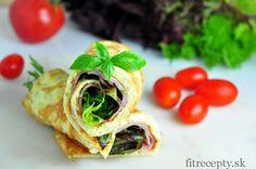 Omeletové rolky - FitRecepty