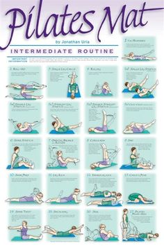 Pilates. Intermediate Routine