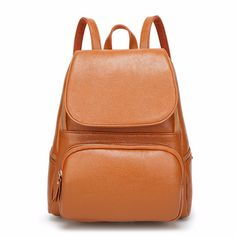 6181b7bcd8b New Arrivals 2016  Fashion Woman s Bags Solid Color Black  Khaki Rose and  Wine Red · Leather School ...