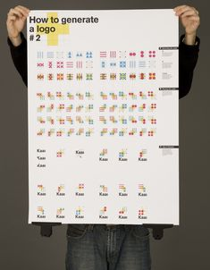 Identity System: System of Oppositions by edouard pecher, via Behance