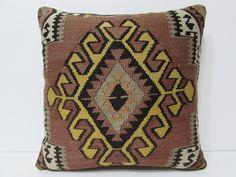 20x20 kilim pillow 20x20 extra large cushion large accent pillow large outdoor pillow 20x20 pillow case large kilim rug pillow cover 22326