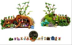 MIDDLE EARTH fairy house by WEE-OOAK-MINIATURES.deviantart.com on @deviantART
