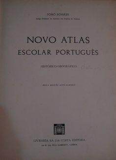 Novo Atlas Escolar Português (Histórico-Geográfico) | VITALIVROS