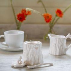Making my day a little more special beginning with morning coffee! #shoppallen #Season15 #Januarywhite #sharethebounty #whimsical #mossmountain #gardenhomeretreat
