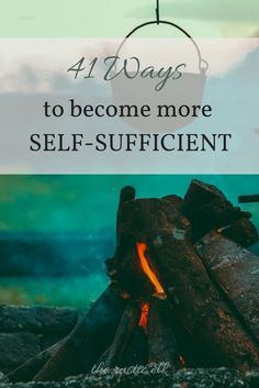 41 Ways to Become More Self-Sufficient - Even if you don't have a homestead, or any land at all. You can become more self-sufficient, today! Try any of these 41 skills to increase your independence and learn to live off the land! #selfsufficiency #homesteading #preparedness