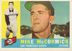 1960 Topps #530 Mike McCormick Front