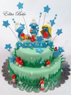 Top Smurfs Cakes