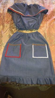 Traditional haitian dress