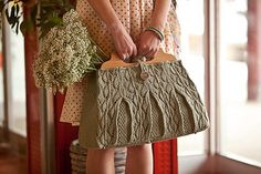 Lacey Leaf Satchel by Pam Powers - $5.50