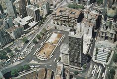 olho de pássaro, Clovis Bevilacqua Square (circa 1968) - São Paulo, Brasil