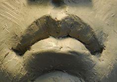 Dit was voor de structuur van de lippen.