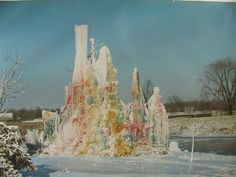 Veal's Ice Tree, late 1960's.
