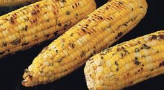 Corn on the Cob with Basil-Parmesan Butter-Weber Grill recipes