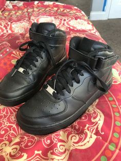 new styles d32a9 d71fa nike air force 1 black high size 5 brand new  fashion  clothing  shoes
