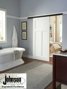 Single Wall Mount Door, Johnson Hardware Used: 2610 Wall Mount Door Hardware,  CLICK HERE FOR PRODUCT DETAILS | Everything Else | Pinterest | Wall Mount,  ...