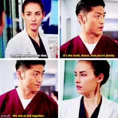 Ethan Choi and Sarah Reese #ChicagoMed #onechicago #Reethan tumblr
