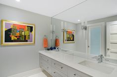 Bathroom design by Johnson & Associates Interior Design