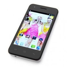 """CUBOT GT72+ DUAL CORE - 3G – Android 4.4 - Pantalla 4.0"""" Smartphone CUBOT GT72+ Negro. Teléfono libre de Pantalla Capacitiva IPS 4.0"""" Multi-Touch 5 puntos y 3G integrado para poder navegar por internet a la más alta velocidad, doble cámara de 2.0mpx y Google Android 4.4 Kitkat Original. El teléfono es Dual SIM y lleva Wifi y GPS. P.V.P. 85€"""