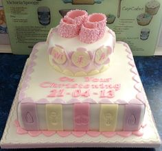 Christening cake for a friend