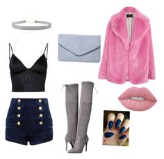 """""""Pink"""" by vikinka-v on Polyvore featuring J.Crew, Pierre Balmain, T By Alexander Wang, GUESS, Dorothy Perkins, Humble Chic, Witchery and Lime Crime"""
