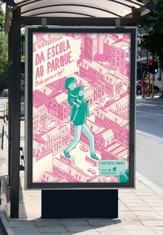 Onde queres ir hoje? Bronze - Cannes Young Lions 2014 on Illustration Served