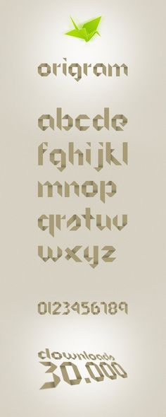 Origram Free Font by `NunoDias on deviantART