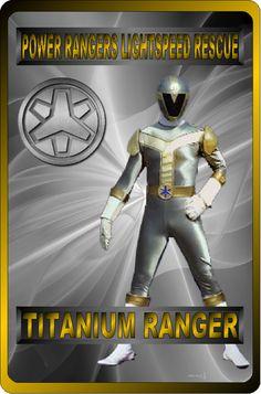 Titanium Ranger by rangeranime on @DeviantArt