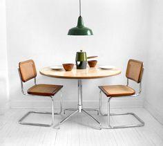 Vintage Dining Room Table - Mid Century, Kitchen, Wood, Retro, Industrial