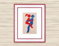 Sexy Cross Stitch Pattern PDF love needlework by TimeForStitch