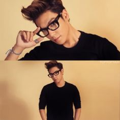 BIGBANG TOP... Love a man with glasses