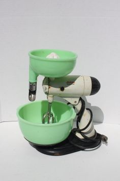 Vintage Sunbeam Mixmaster Mixer Working With by cybersenora, $145.00