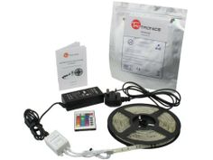 TaoTronics 16.4 Ft RGB Color Changing Kit with LED Flexible Strip, Controller + Remote and 12 Volt 4 Amp Power Supply By TaoTronics, 5050rgb Kit by TaoTronics. $35.99. Complete RGB Kit including 12 Volt 4 Amp Power supply, CE Controller, and 16.4 Ft RGB Strip. 3m Tape on the back of LED strip. Other end of strip has 4 wires to allow you to connect to Data Repeater. Connectable and linkable to many strips (data repeater not included). One end of strip can plug into controller wi...