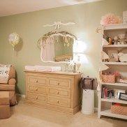 Baby Girl Nursery | #nursery #girl #shabbychic