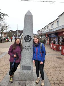 Milngaive. Day 1: West Highland Way.