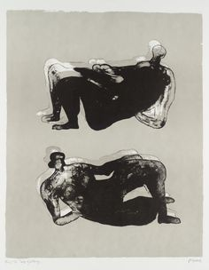 Henry Moore Reclining Figures - Signed Lithograph from We buy and sell Henry Moore etching prints, sculptures, and limited editions. Action Painting, Figure Painting, Henry Moore Reclining Figure, Henry Moore Drawings, Henry Moore Sculptures, Etching Prints, Alberto Giacometti, Sculpture Painting, Abstract Sculpture