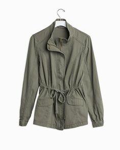 Military Style Jacket.