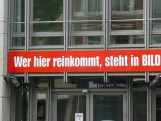 "in ""Bild"", Hamburg, Germany"