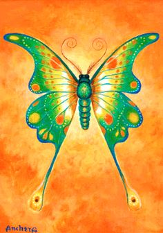 butterfly paintings   Butterfly Painting by Richard Ancheta