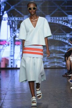 DKNY RTW Spring 2015 Photo by Giovanni Giannoni
