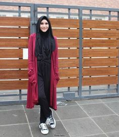 Latest and Modern Jumpsuit with Hijab - Reny styles