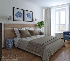 Дизайн спальни на Юмашева 15