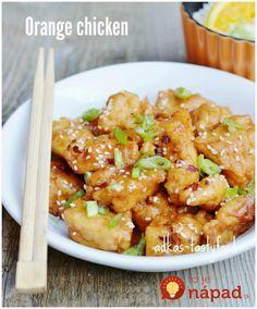 Orange Chicken, Kung Pao Chicken, Shrimp, Health Fitness, Meat, Ethnic Recipes, Kochen, Orange Glazed Chicken, Beef